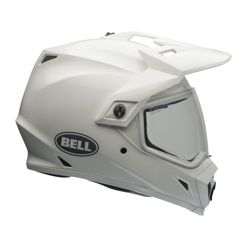 Casque BELL MX-9 Adventure MIPS Gloss White taille L
