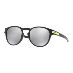 Lunette de soleil OAKLEY Latch Valentino Rossi Signature Series Matte Black verres Chrome Iridium