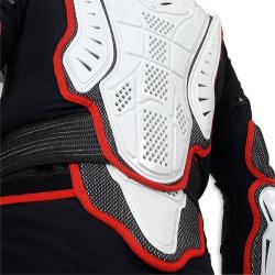 Gilet de protection UFO Pro-Ergo avec ceinture noir/blanc taille adulte L/XL