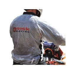 Veste de pluie Risk Racing translucide taille XL