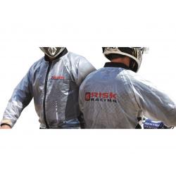 Veste de pluie Risk Racing translucide taille S
