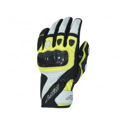 Gants RST Stunt III CE cuir/textile été jaune fluo taille L/10 homme