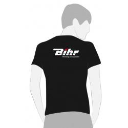 T-SHIRT BIHR NOIR POWERING YOUR PASSION TAILLE M