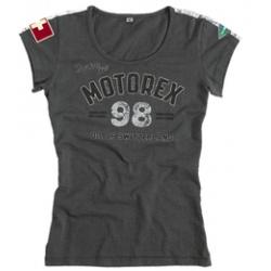 T-shirt MOTOREX Classic Line gris femme taille M