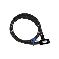 Antivol câble OXFORD Barrier 1,5m x 25mm fumé