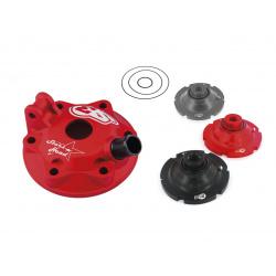 Kit culasse et inserts S3 Stars Head aluminium rouge Beta RR250