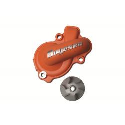 Carter de pompe à eau + hélice BOYESEN alu orange KTM EXC450/500