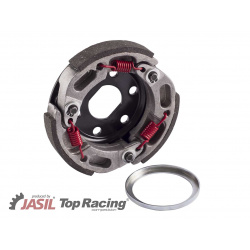 EMBRAYAGE TOP RACING S1V POUR MBK BOOSTER '97-, PIAGGIO TYPHOON, 3 PATINS Ø107MM