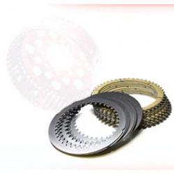 Kit disques garnis et lisses 48 dents pour embrayage DUCATI origine