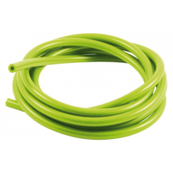 Durite de mise à l'air SAMCO pour carburateur silicone vert 3m - Øint. 5mm/Øext. 10mm