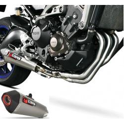 Ligne Scorpion Serket silencieux titane Yamaha MT-09