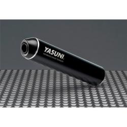 Echappement YASUNI Cross HM acier / silencieux aluminium Max Black
