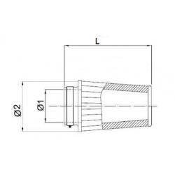 Filtre à air BMC Conique manchon Ø85mm