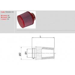 Filtre à air BMC Conique manchon Ø66mm