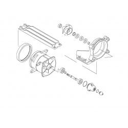 Kit réparation de turbine WSM Kawasaki 1200 STX-R