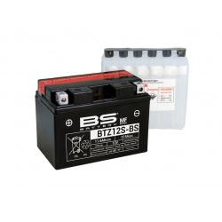 Batterie BS BATTERY BTZ12S-BS sans entretien livrée avec pack acide