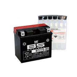 Batterie BS BATTERY BTZ7S-BS sans entretien livrée avec pack acide