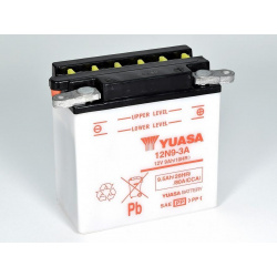 Batterie YUASA 12N9-3A conventionnelle