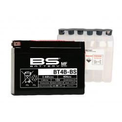 Batterie BS BATTERY BT4B-BS sans entretien livrée avec pack acide