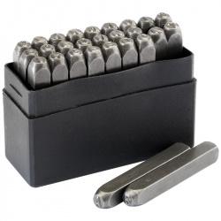 Jeu de lettres à frapper DRAPER 4,5mm