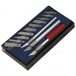 Couteaux de modéliste DRAPER 16pcs