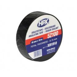 Ruban adhésif isolant HPX noir