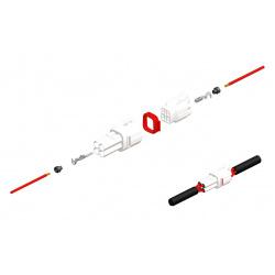 Jeu de connectiques 2 voies série 090 SMTO BIHR type origine Ø0,85mm²/1,25mm² - 5 jeux complets