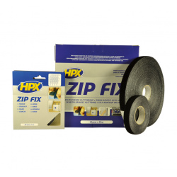 Ruban à crochets Zip Fix HPX noir