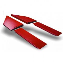 Extensions latérales BIKE LIFT Spider rouge 97x42cm pour Cruiser/Absolute 756 Gate, Split, Spider