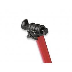 Bequille avant BIKE LIFT universelle rouge avec supports coniques