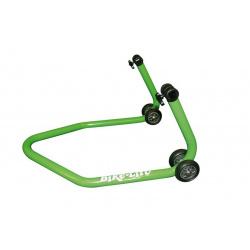 """Béquille arrière universelle BIKE LIFT vert avec supports caoutchouc en """"L"""""""