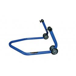 """Béquille arrière universelle BIKE LIFT bleu avec supports en """"V"""""""