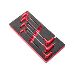Module FACOM 7 clés mâles Torx® poignées en T