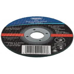 Lot de 10 disques à tronçonner DRAPER 1,2mm