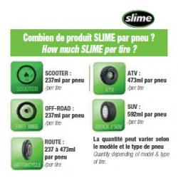 Kit SLIME Tubeless 237ml