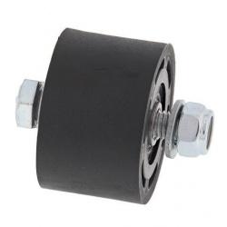 Roulette de chaine supérieur/inférieur ALL BALLS noir Suzuki LTR250R/500R / Honda CR250R/500R