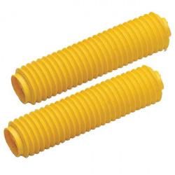Soufflets de fourche CEMOTO jaune Ø42mm - 450mm