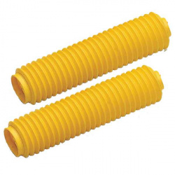 Soufflets de fourche CEMOTO jaune Ø43mm - 460mm