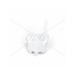 Plaque numéro frontale UFO blanc Honda CRF250R/450R