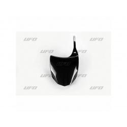 Plaque numéro frontale UFO noir Kawasaki KX250F