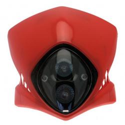 Plaque phare BIHR Viper rouge