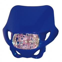 Plaque phare BIHR Enduro bleu 12V/35W