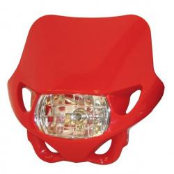 Plaque phare BIHR Enduro rouge 12V/35W