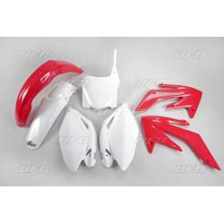 Kit plastique UFO couleur origine rouge/blanc Honda CRF250R