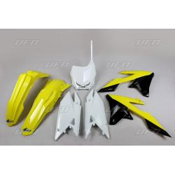 Kit plastique & déco UFO couleur origine Suzuki RM-Z250/450