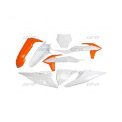 Kit plastique & déco UFO couleur origine KTM SX/SX-F