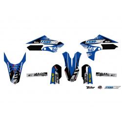 Kit plastique & déco UFO couleur origine Yamaha YZ65
