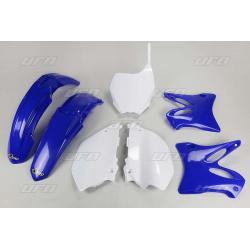 Kit plastique & déco UFO couleur origine Yamaha YZ125/250