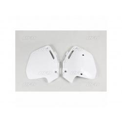 Plaques latérales UFO blanc Honda CR