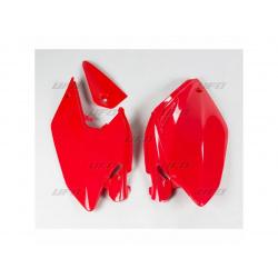 Plaques latérales UFO rouge Honda CRF250X